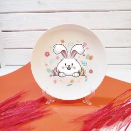 """Тарелка """"Пасхальный кролик"""""""