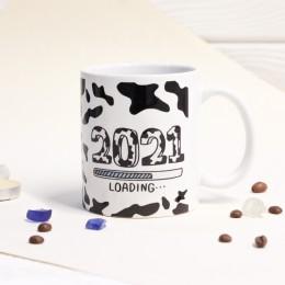 """Кружка """"С новым годом 2021"""""""