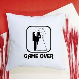 """Подушка """"Game over"""""""