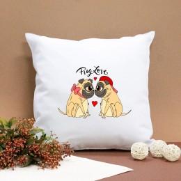 "Подушка ""Pug love"""