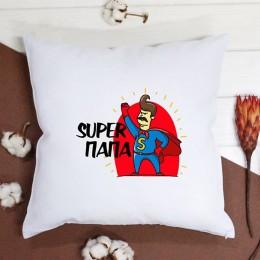 """Подушка """" Super папа"""""""